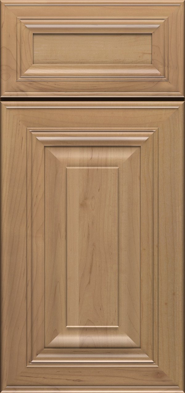 Artesia 5-piece maple raised panel cabinet door in desert