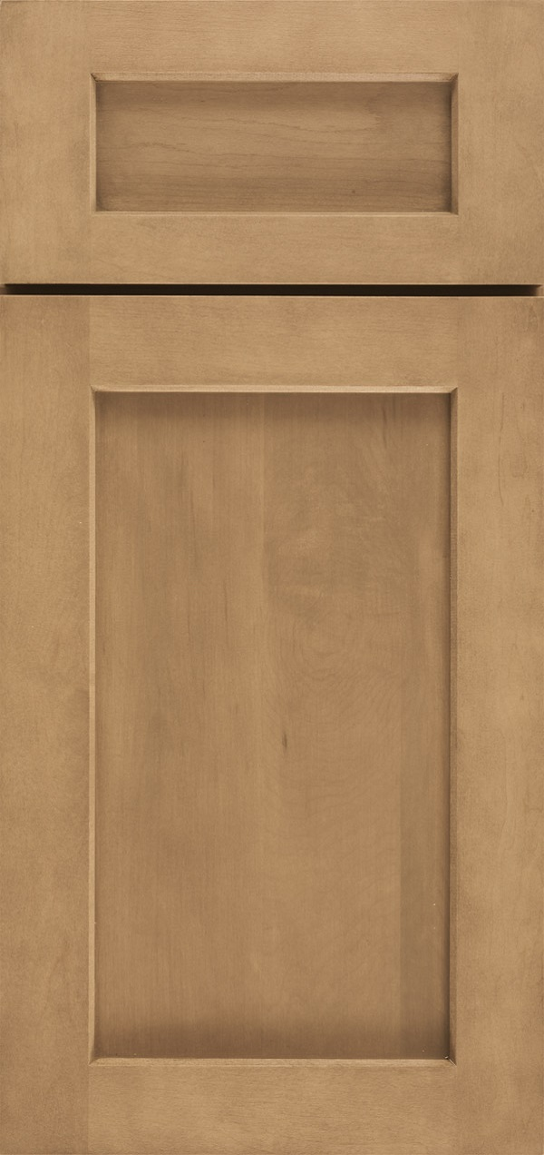 Benson 5-piece reversed raised panel cabinet door in Desert