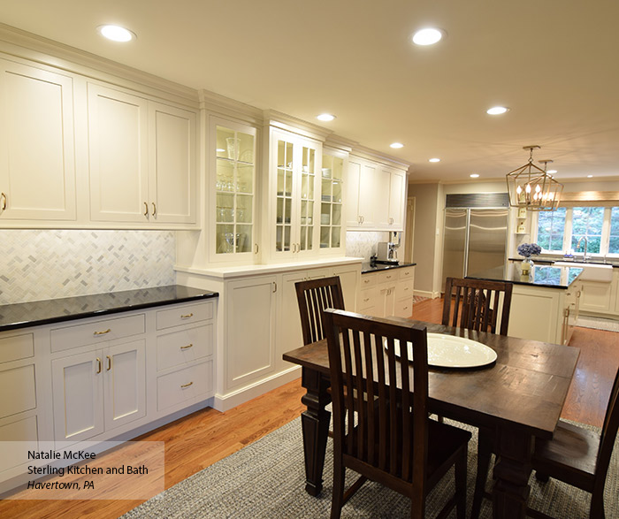 Off White Inset Kitchen Cabinets